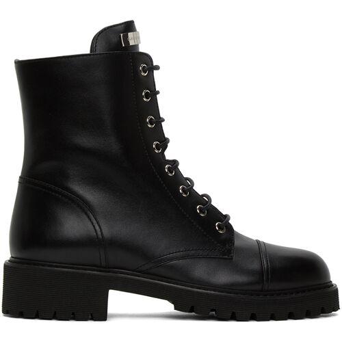 Giuseppe Zanotti Black Nevada Boots 35