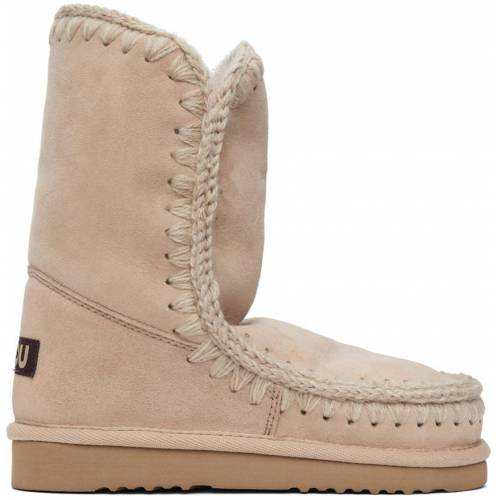 Mou Pink 24 Mid-Calf Boots 40