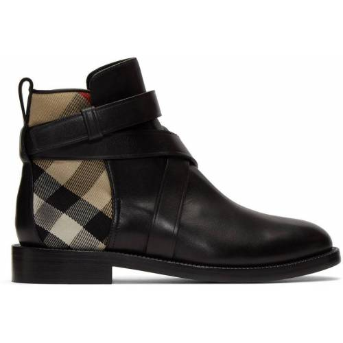 Burberry Black House Check Pryle Boots 39