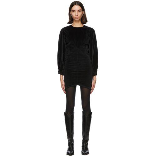 Isabel Marant Black Dilavio Dress XL