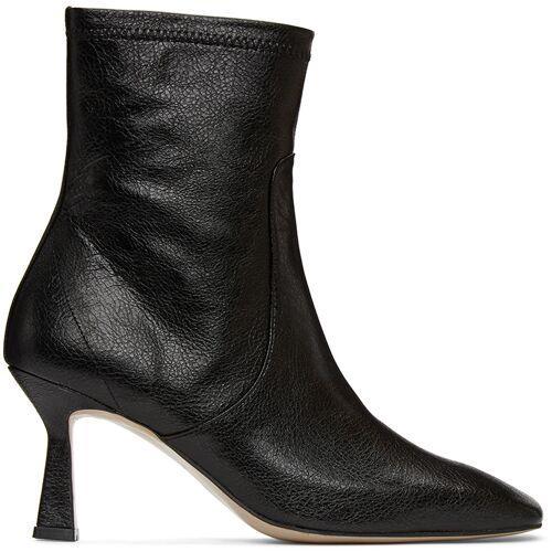 LOW CLASSIC Black Stiletto Mid Boots 38