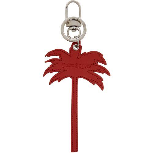 Palm Angels Red Palm Tree Keychain UNI