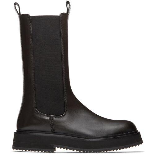 Joseph Black British Mid-Calf Boots 35
