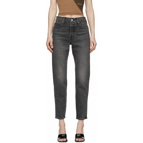 Levi's Grey Wedgie Icon Jeans 24