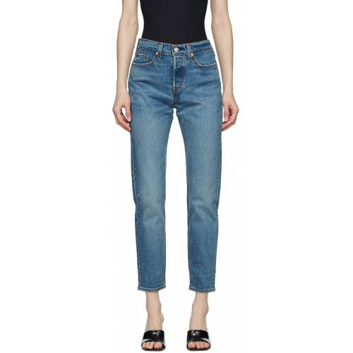 Levi's Blue Wedgie Icon Jeans 24