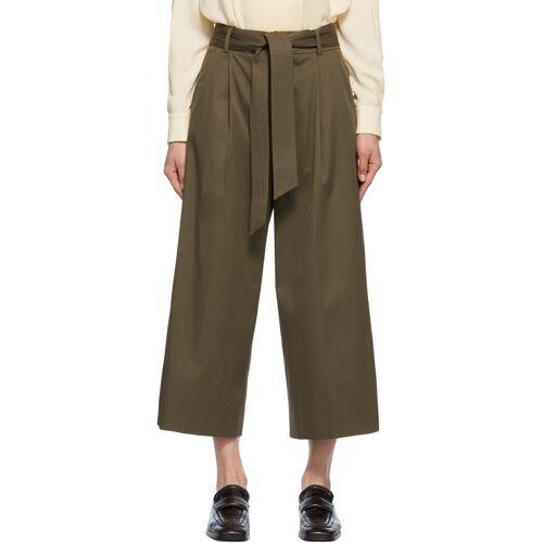 Max Mara Khaki Ghisa Trousers 23