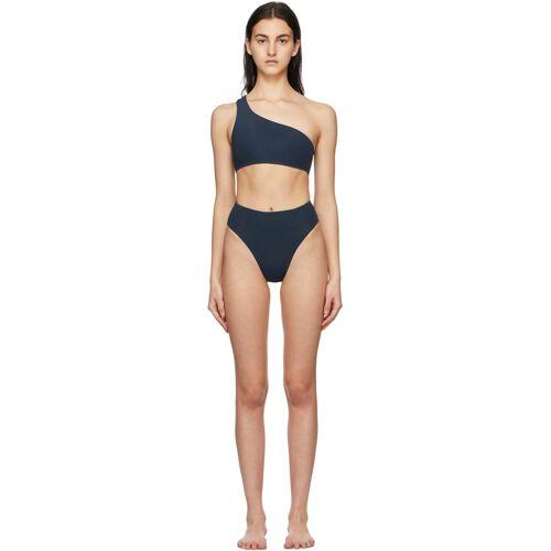 Haight Blue Perlin Highleg Hotpants Bikini 32