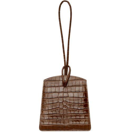 Little Liffner Brown Croc Loop Bag UNI