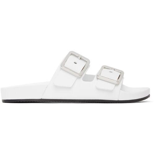 Balenciaga White Mallorca Sandals 37