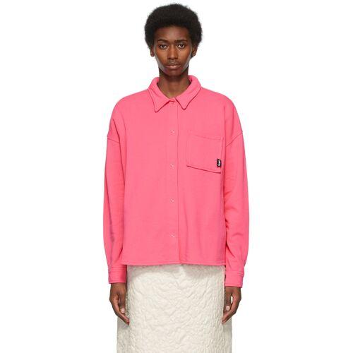 Stüssy Pink Huron Shirt S