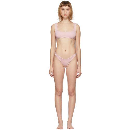 Reina Olga Pink Scrunch Ginny Bikini 28