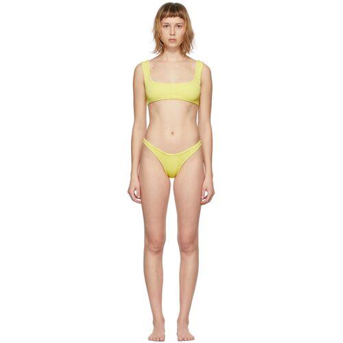 Reina Olga Yellow Scrunch Ginny Bikini 28