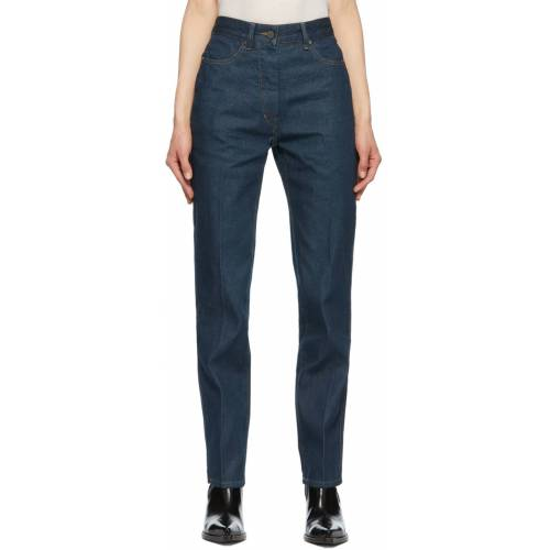 Lemaire Blue Fitted Jeans 34