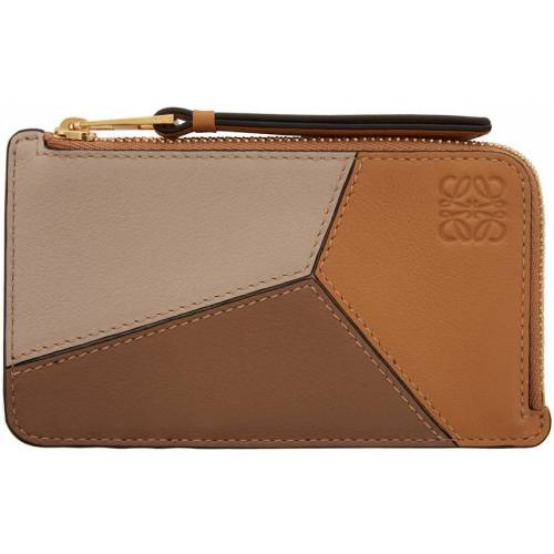 Loewe Tan Puzzle Coin Pouch UNI