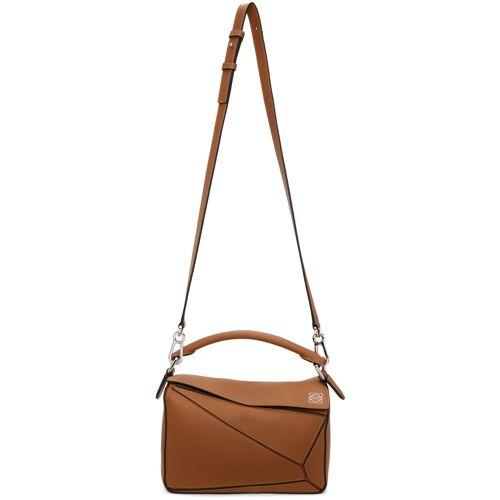 Loewe Tan Small Puzzle Bag UNI
