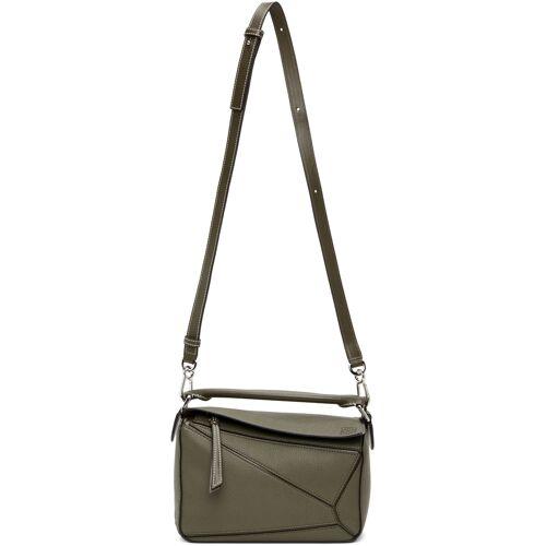 Loewe Khaki Small Puzzle Bag UNI