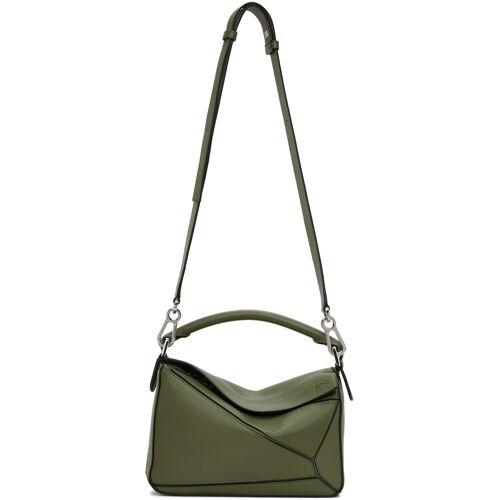 Loewe Green Small Puzzle Bag UNI