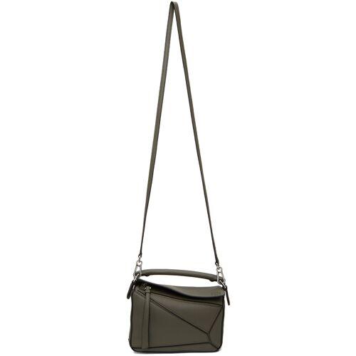 Loewe Khaki Mini Puzzle Bag UNI