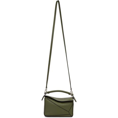 Loewe Green Mini Puzzle Bag UNI