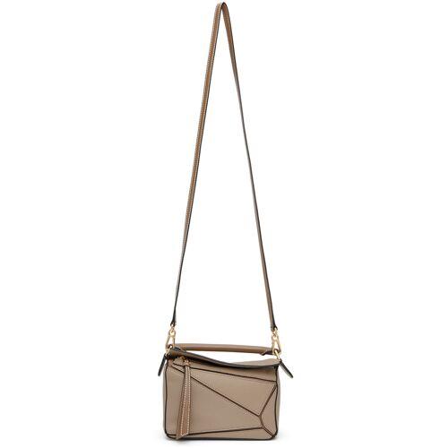 Loewe Taupe Mini Puzzle Bag UNI