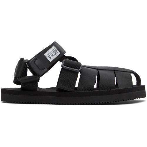 Suicoke Black SHACO Sandals 37