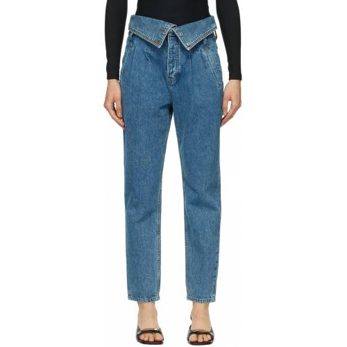 Re/Done Blue '80s Foldover Jeans 27