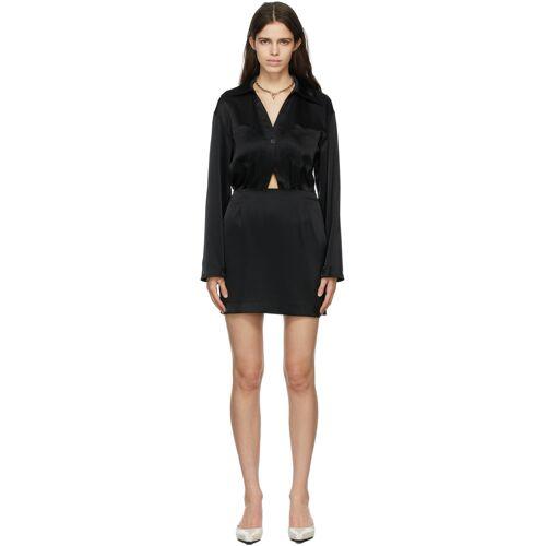 Nanushka Black Altair Dress XS