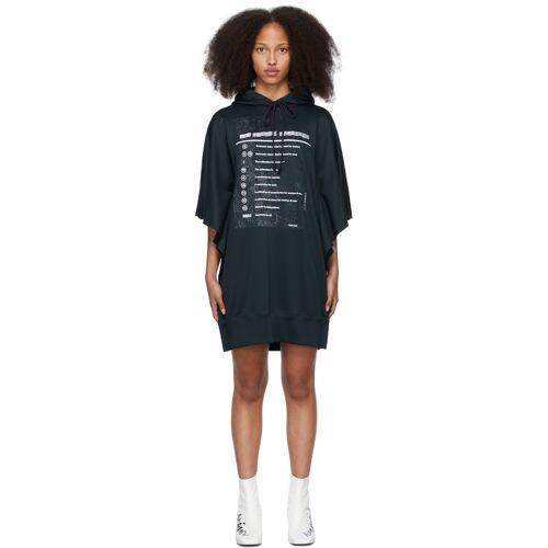 MM6 Maison Margiela Black Explanation Dress S