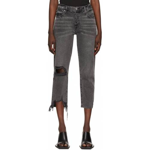 Frame Grey 'Le Slouch Crop' Jeans 33