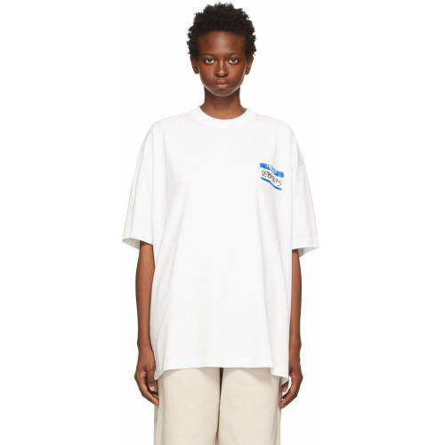 VETEMENTS White 'My Name Is Vetements' T-Shirt XL