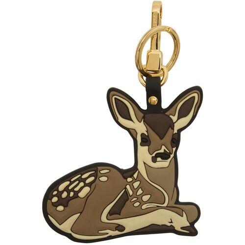 Burberry Brown 2D Deer Keychain UNI