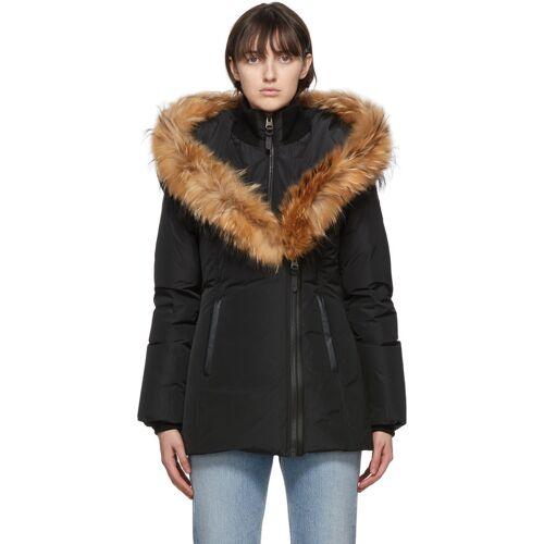 Mackage Black Down & Fur Adali Parka XS