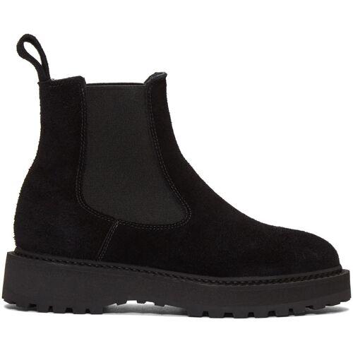 Diemme Black Suede Alberone Chelsea Boots 37