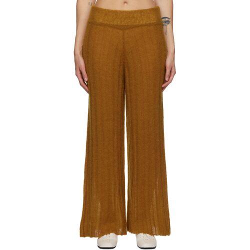 RUS Tan Alpaca Shoji Lounge Pants 26