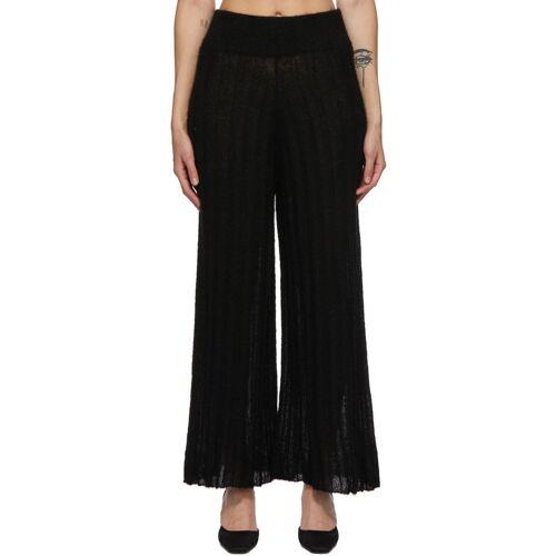 RUS Black Alpaca Shoji Lounge Pants 28