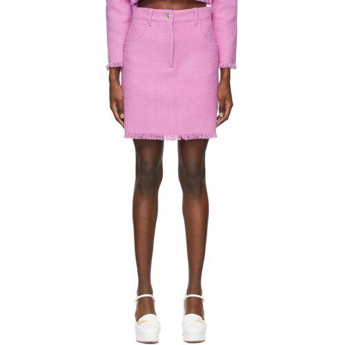 MSGM Pink Tweed Miniskirt 23