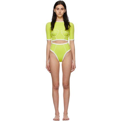 Medina Swimwear Green Wave Shaper Bikini 30