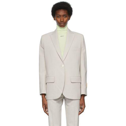 Off-White Grey Tomboy Blazer S
