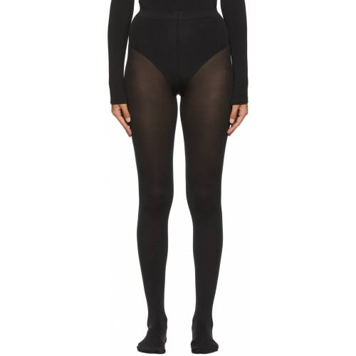 Wolford Black Mat Opaque 80 Tights 38/39