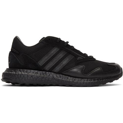 Y-3 Black Rhisu Run Sneakers 40