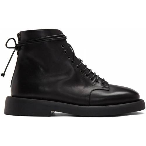Marsèll Black Gomme Polacco Boots 44