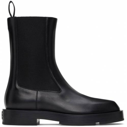 Givenchy Black Show Chelsea Boots 44