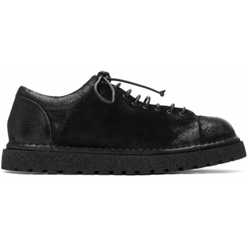 Marsèll Black Gomme Low-Top Boots 45