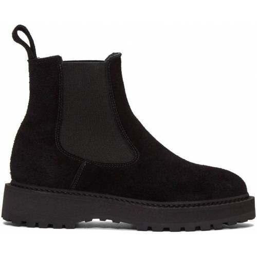 Diemme Black Suede Alberone Chelsea Boots 36