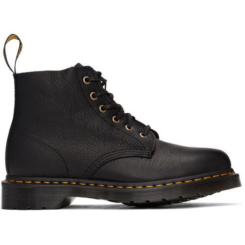 Dr. Martens Black 101 Unbound Ambassador Lace-Up Boots 46
