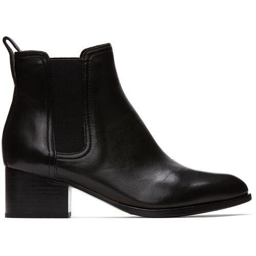 rag & bone Black Walker Boots 40