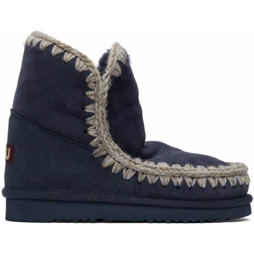 Mou Navy 18 Ankle Boots 37