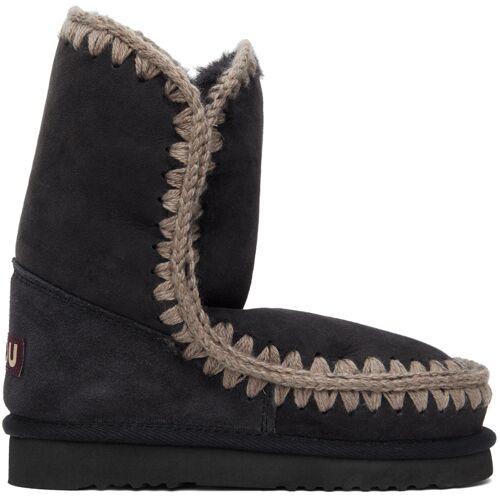 Mou Grey 24 Mid-Calf Boots 36