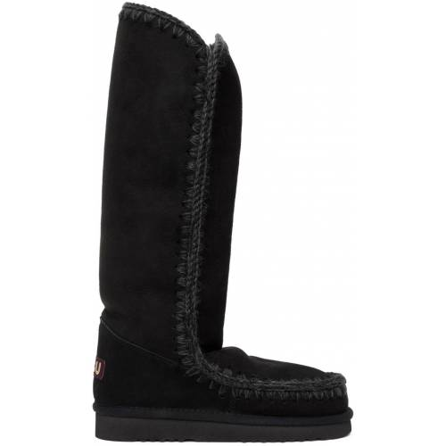 Mou Black 40 Tall Boots 35