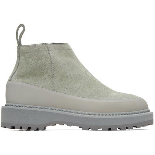 Diemme Grey Suede Paderno Boots 38